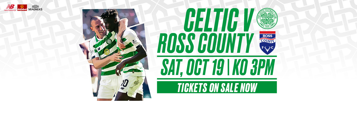 Celtic v Ross County – tickets on sale now