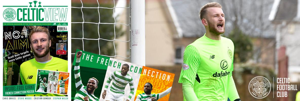 Bain is settling in as one of the Bhoys