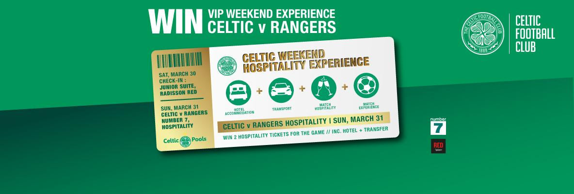Time running out to win VIP weekend experience for Celtic v Rangers