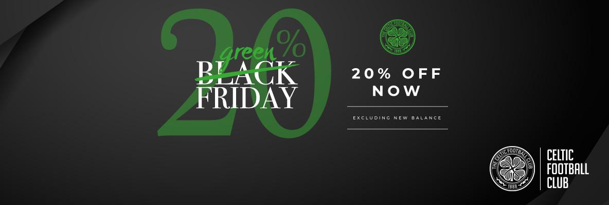 20% off when you shop our 'Green Friday' offer!