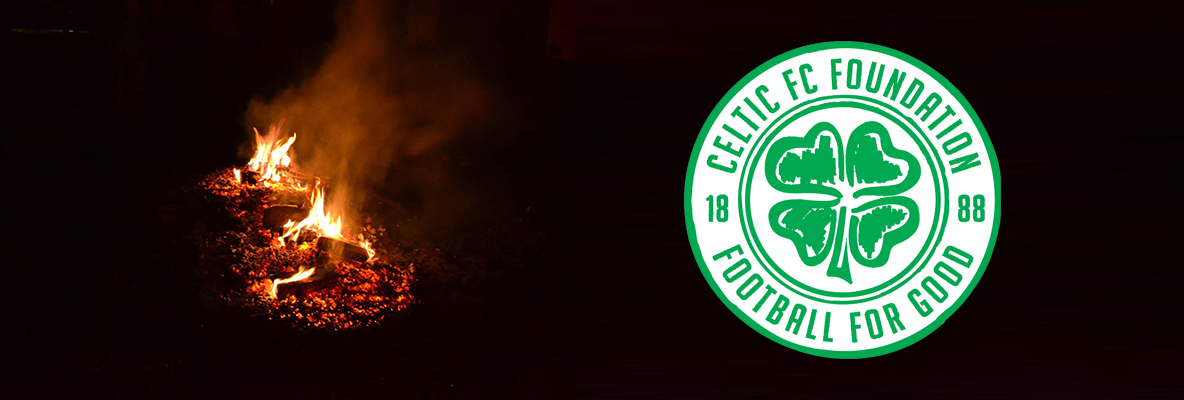 'Walk On Fire' and raise money for Celtic FC Foundation