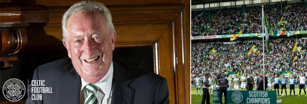 Celtic FC honorary chairman John Keane retires