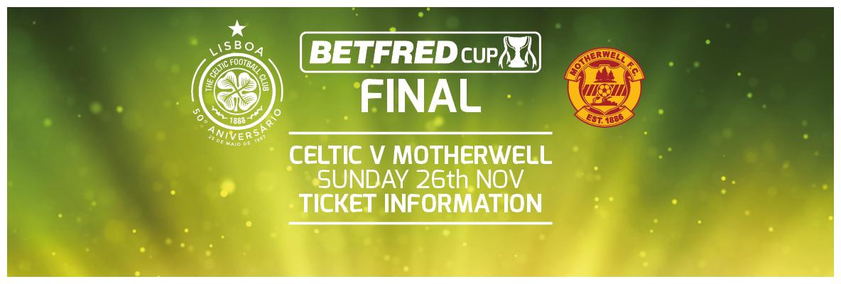 Celtic's League Cup final ticket allocation sold-out