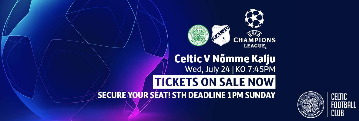 Back the Bhoys as their European journey continues v Nomme Kalju