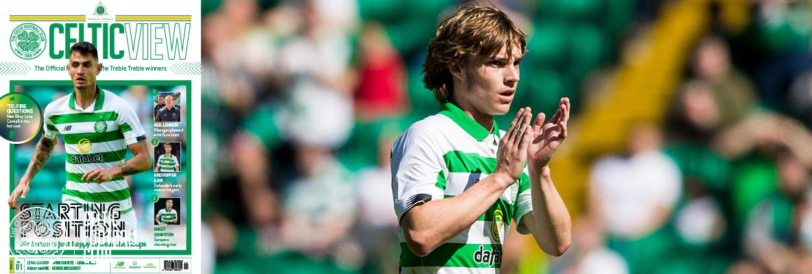 Celtic View feature: 'Tic-Fire Questions with Luca Connell