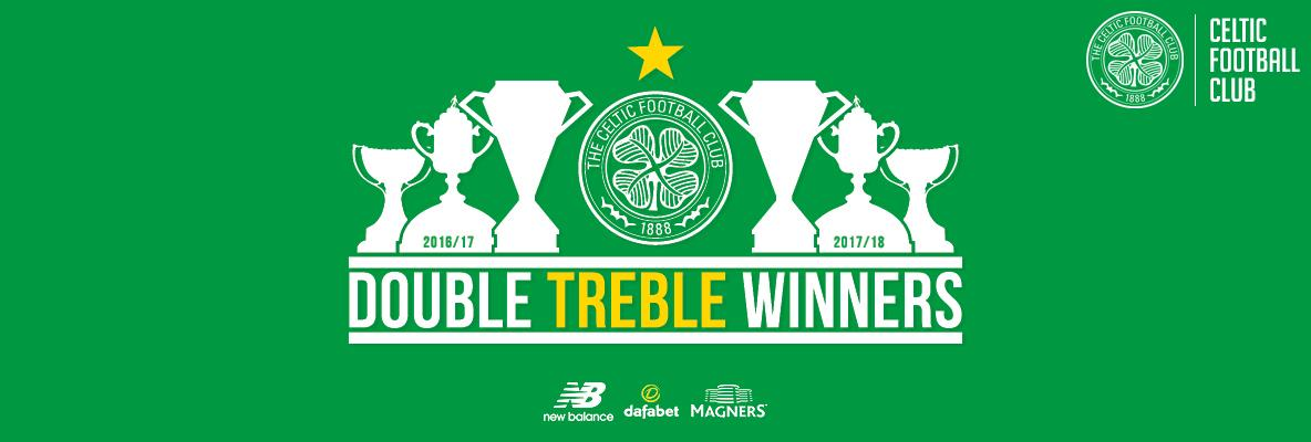 Hail! Hail! to the History Bhoys as Celtic win the Double Treble