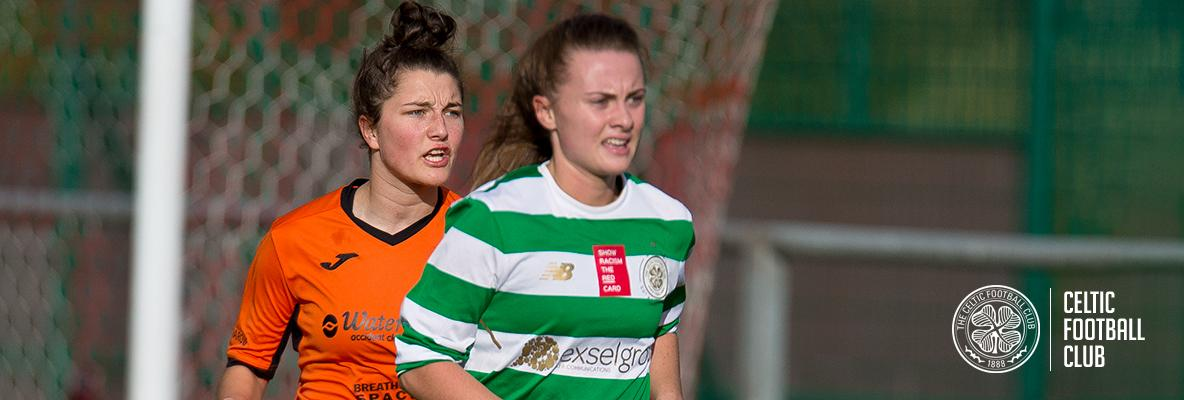 Disappointment for Celtic Women's team against Glasgow City