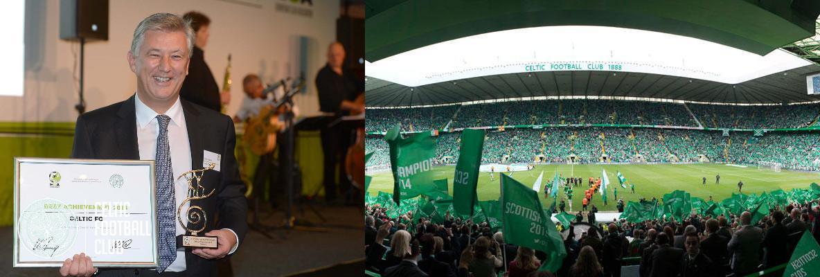 Celtic Park Fan Technology Scoops Prestigious Award