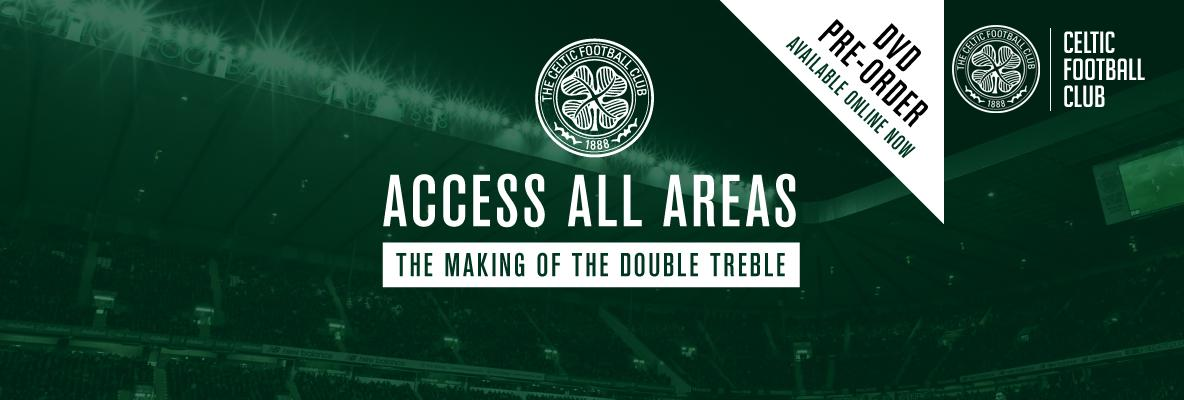 Access all areas. The making of the double treble on pre-order now