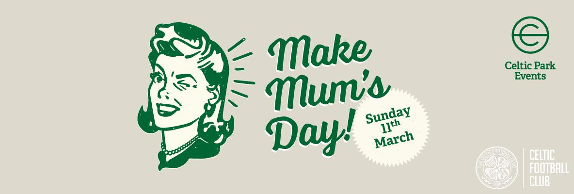 Treat your Mum to an extra special Mother's Day celebration