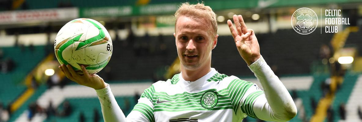 Griffiths targeting more games and goals as Celts chase treble