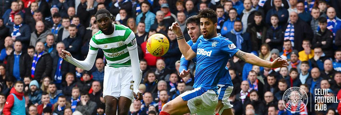 Edouard the derby hero as ten-man Celts triumph at Ibrox