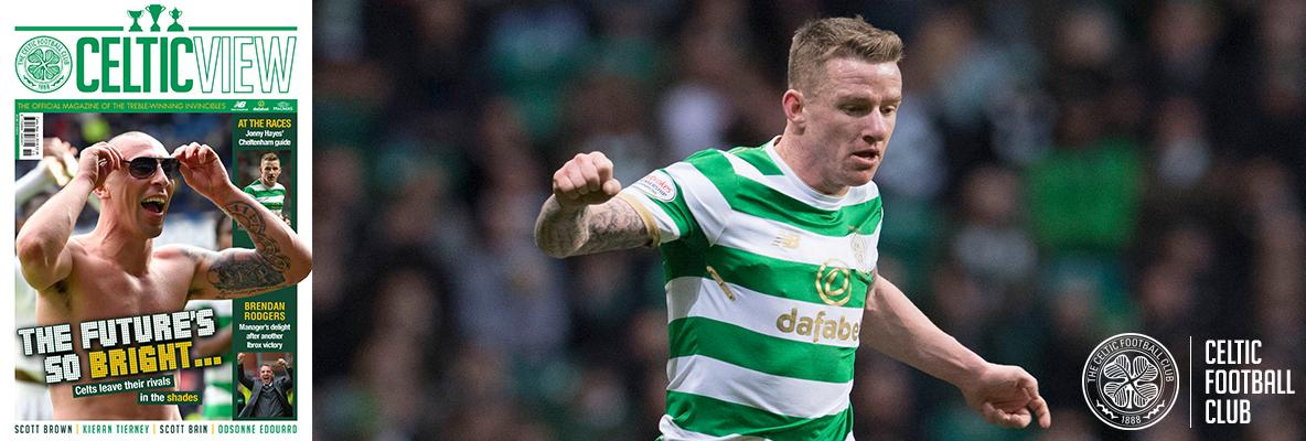 Jonny Hayes reveals his love of horse-racing in the Celtic View