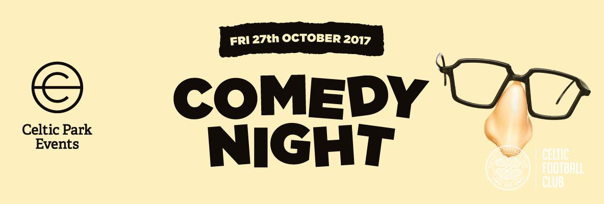 Top comedy line-up at Celtic Park – book now and don't miss out