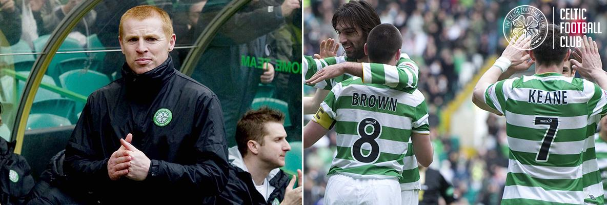 A decade on from Neil Lennon's dugout debut at Paradise