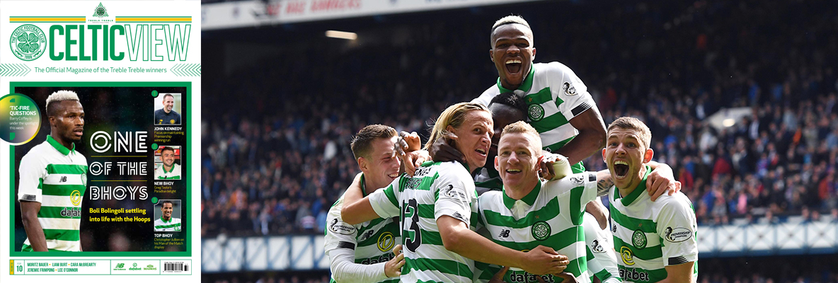 The real Boli Bolingoli in this week's Celtic View