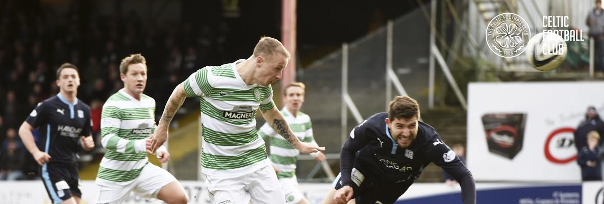 Griffiths awarded Scottish Cup Goal of the Round prize