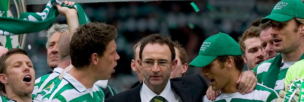 Martin's parting gift after five successful years at Paradise
