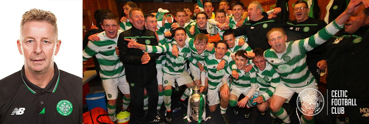 U17 Head Coach John McLaughlan proud of young Celts