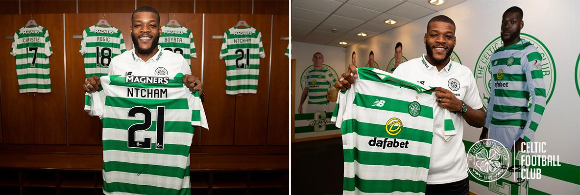 Celtic delighted as Olivier Ntcham signs new four-year deal