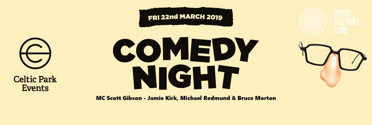 The Comedy Night returns to Paradise – book your place now