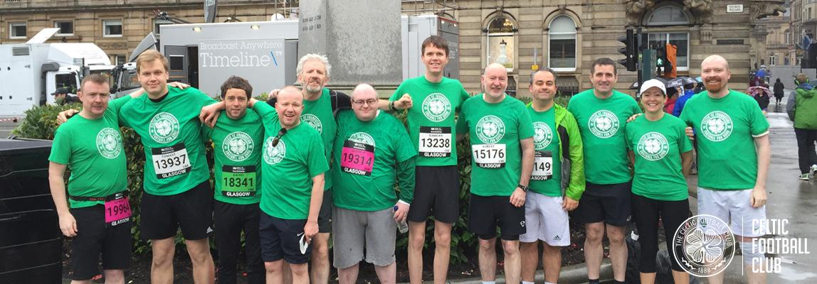 Get behind celtic fc foundation in the great scottish run