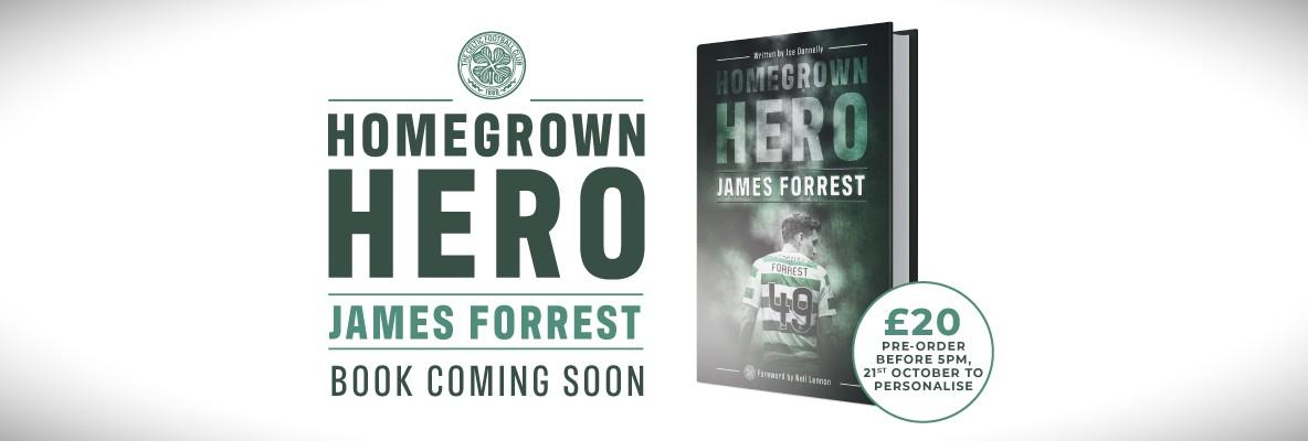 24 hours left! Pre-order personalised copy of Homegrown Hero