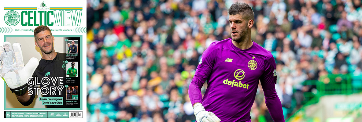 Fraser Forster: We want our hard work to pay off on Saturday