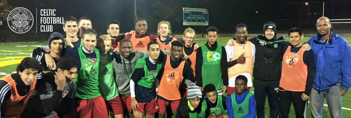 Celtic Soccer Academy make capital gains in Washington DC