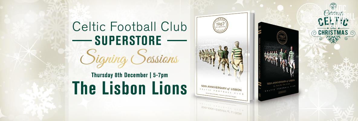 Meet the legendary Lisbon Lions in the Celtic Superstore
