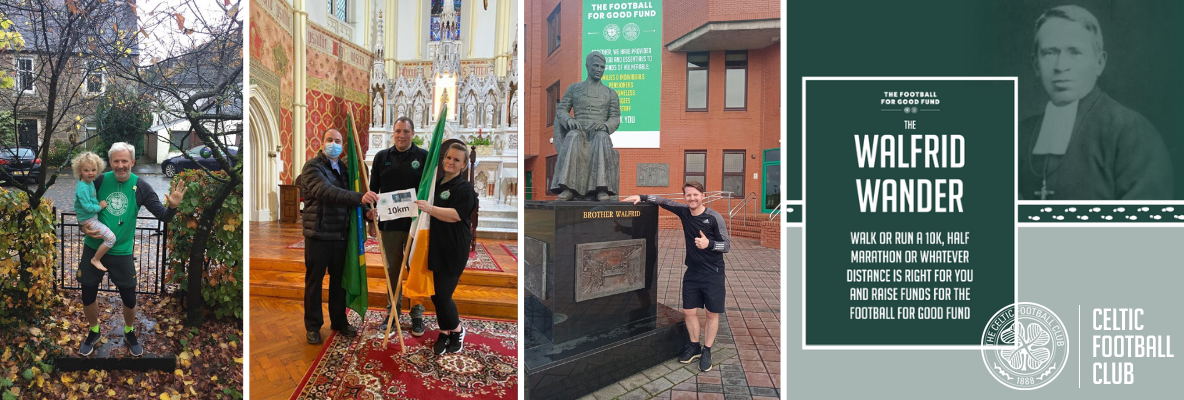 The Walfrid Wander raises £12k for the Football for Good Fund