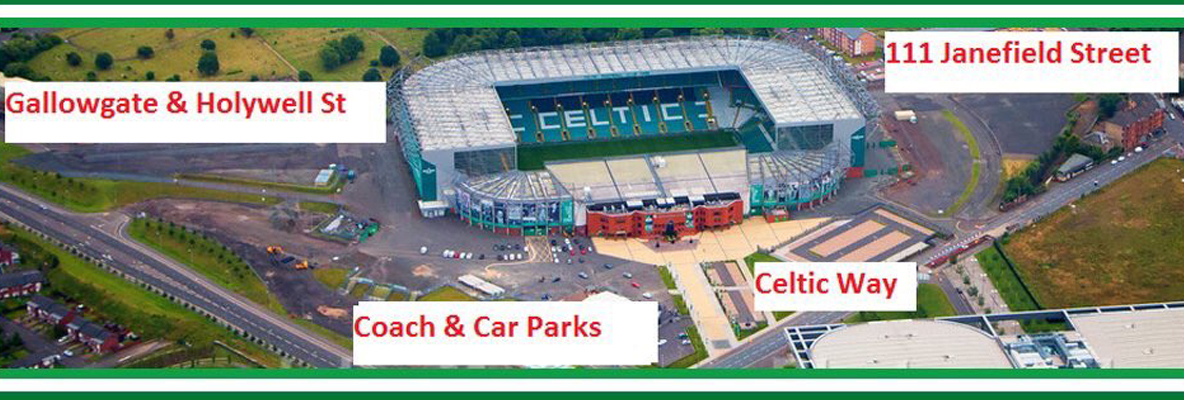 Annual Green Brigade Foodbank Collection at Celtic Park