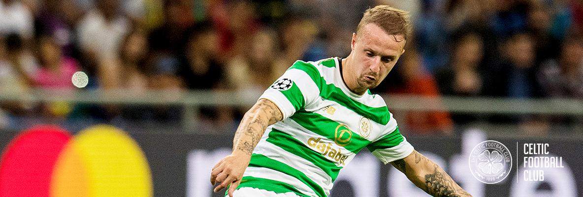 Griffiths leads the Celtic attack as Ralston starts at the back
