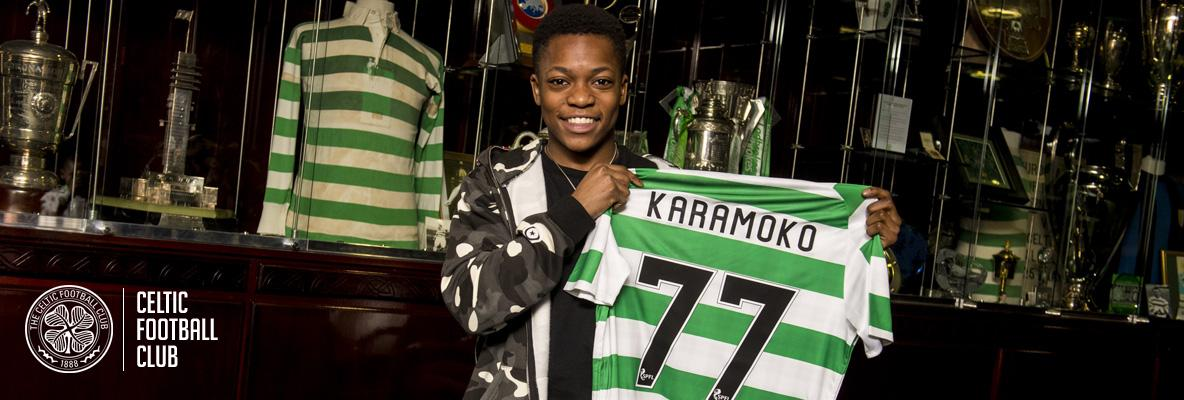 Delight as Celtic sign Karamoko Dembele on first professional deal