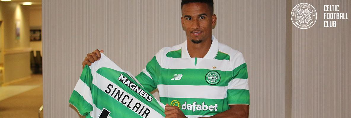 Celtic delighted to sign Scott Sinclair