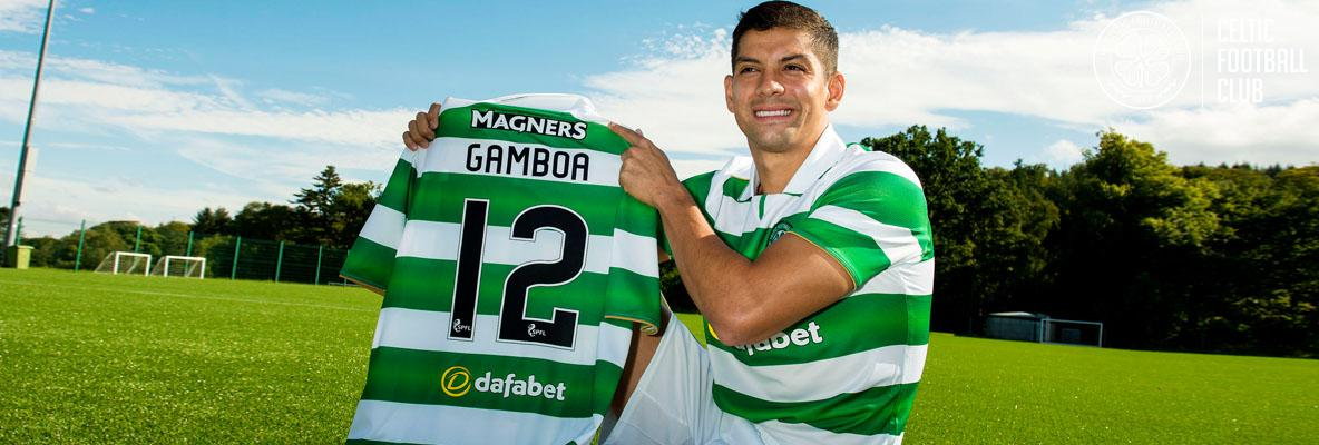 Delight as Celtic sign Cristian Gamboa