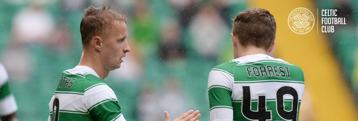 Meet Leigh Griffiths and James Forrest in Superstore next Thursday