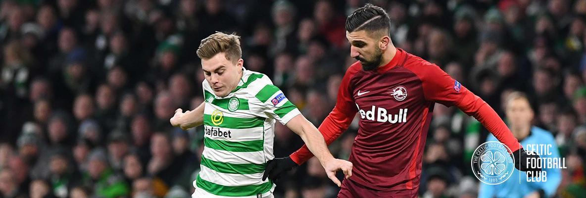 Forrest: Celts must take best form into Europa League last 32