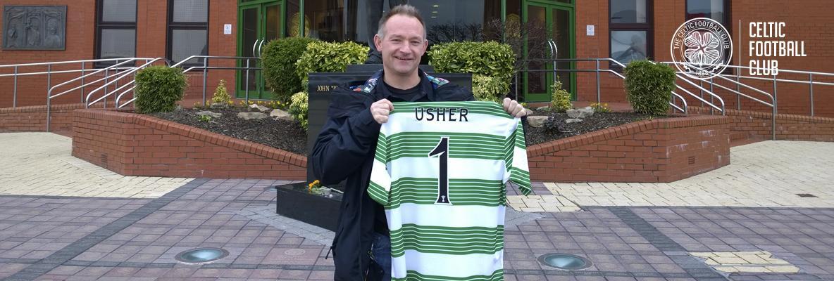 Usher's fitness Guru drops in on Celtic