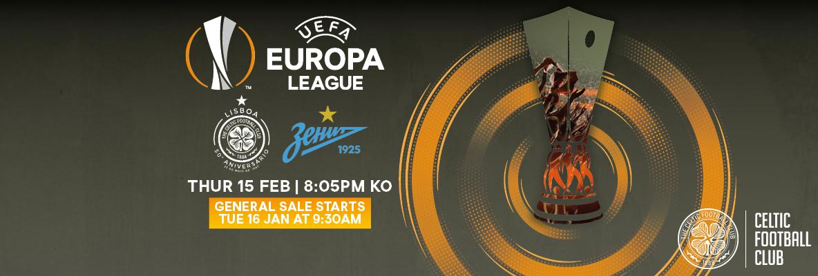 Zenit tickets on general sale from Tuesday, January 16