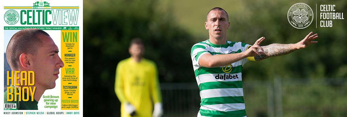 Celtic View Exclusive: Scott Brown on the Hoops' Euro campaign