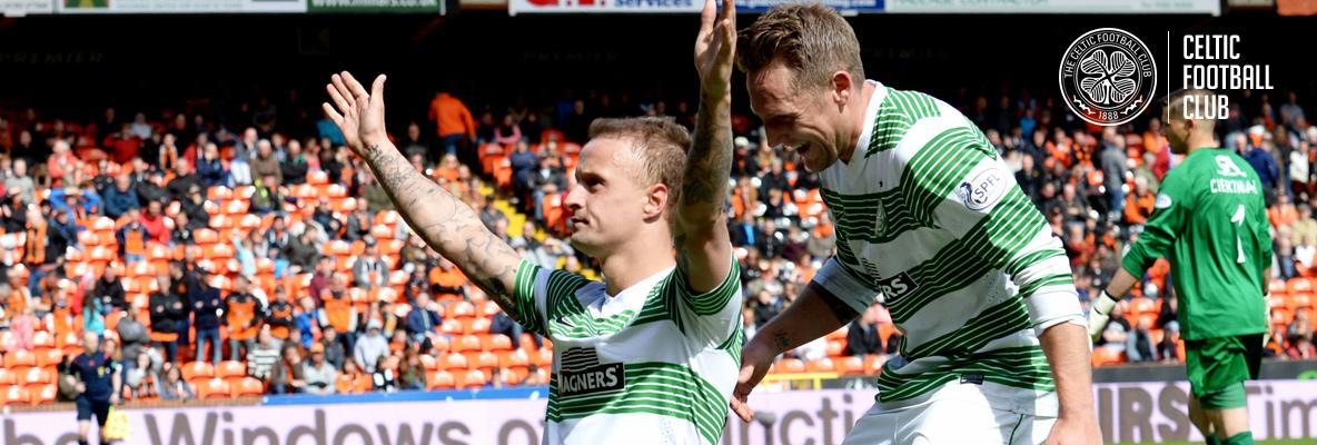 Griffiths hat-trick seals Celtic victory over Dundee United