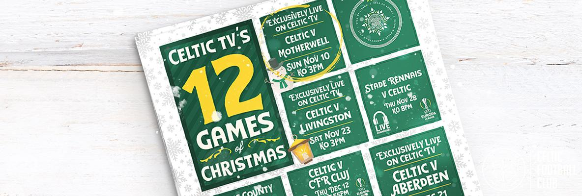 Celtic TV's 12 Games Of Christmas