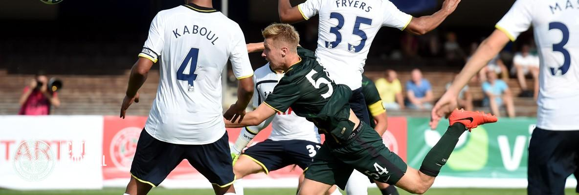 Disappointment as Celtic defeated by Spurs in Finland