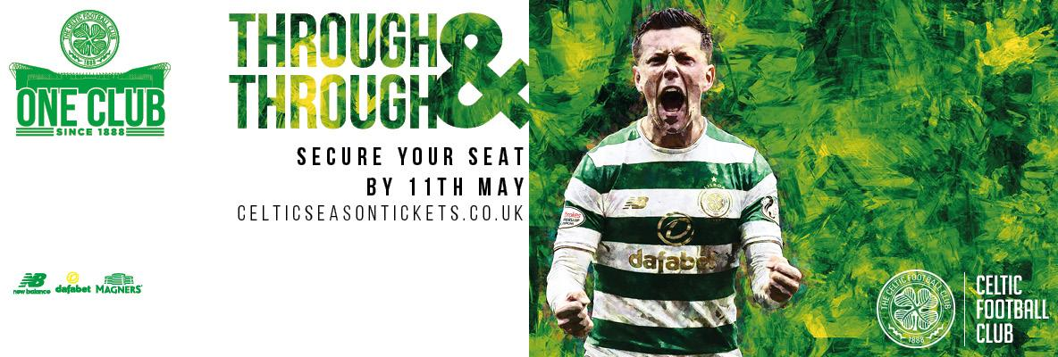 Celebrate Glasgow's green and white, renew your seat for 2018/19