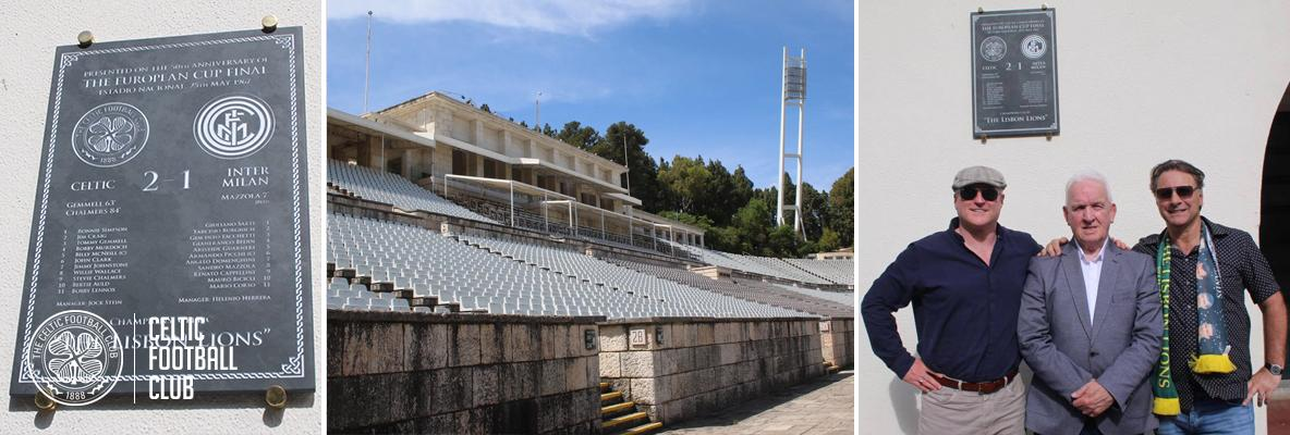 Celtic and The Lisbon Lions Honoured at Estádio Nacional