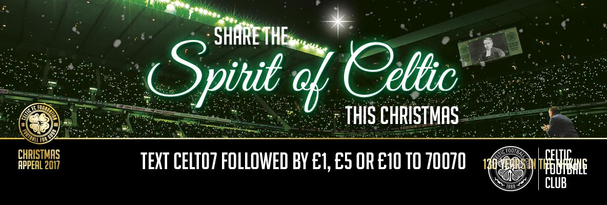 Light Up The Clover for Celtic FC Foundation's Christmas Appeal