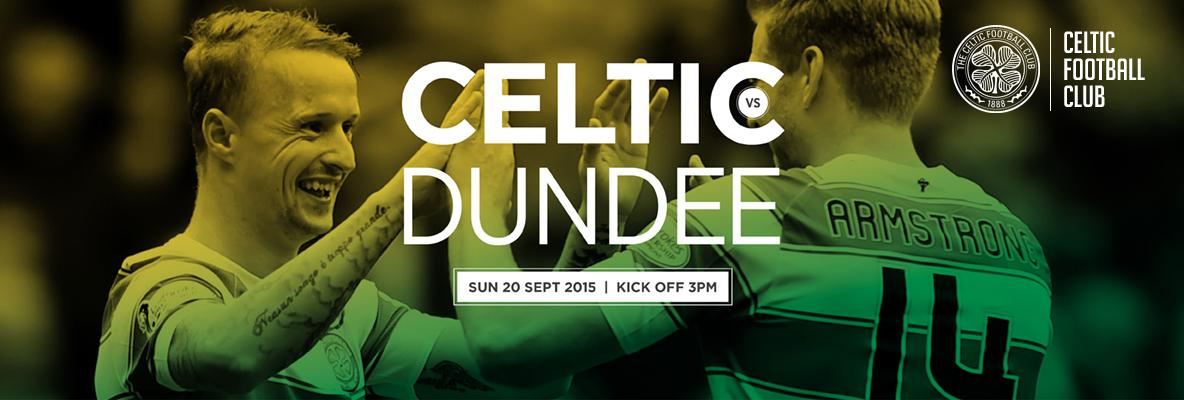 Welcome new Bhoys to Paradise - Dundee tickets on sale now