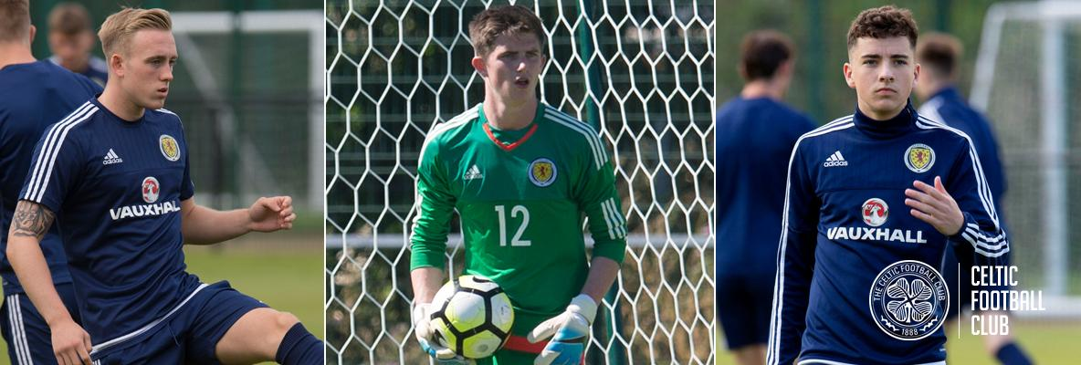 Celtic trio in Scotland Under-21 call-up for European qualifiers