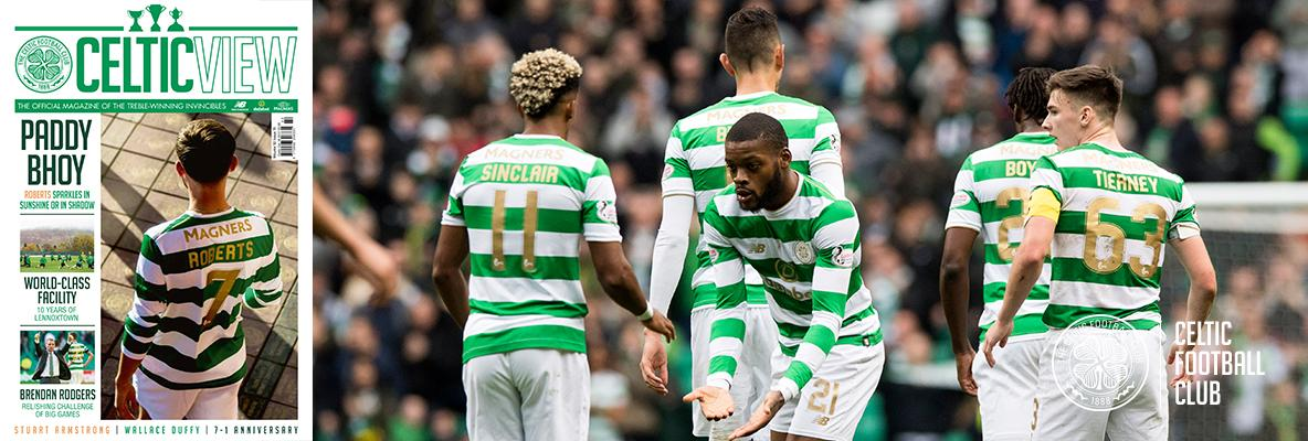 Read the manager's thoughts on Bayern tie in this week's Celtic View